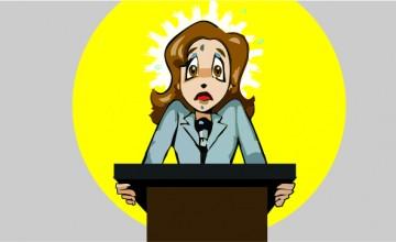 Medo de falar em publico