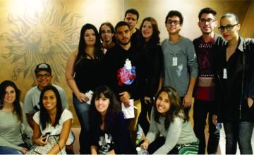 estudantes de publicidade e propaganda visitam agencia publicis brasil