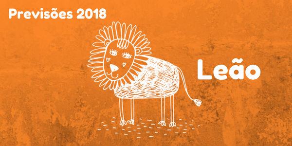 Previsão do signo de Leão para 2018
