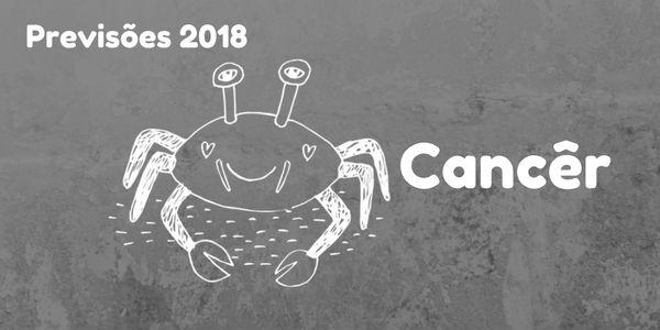 Previsões do signo de Câncer para 2018