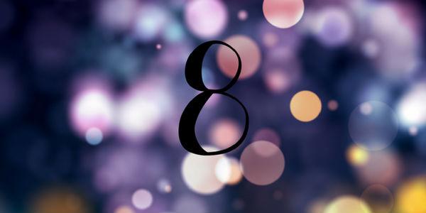 Significado do número 8 na numerologia