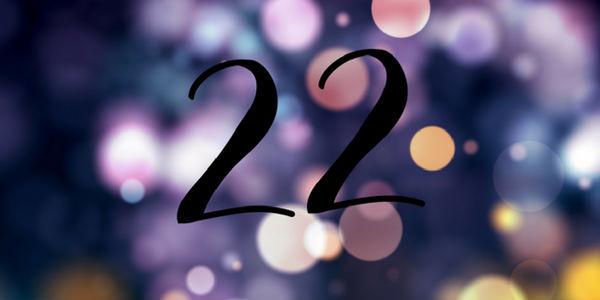 Significado do número 22 na numerologia