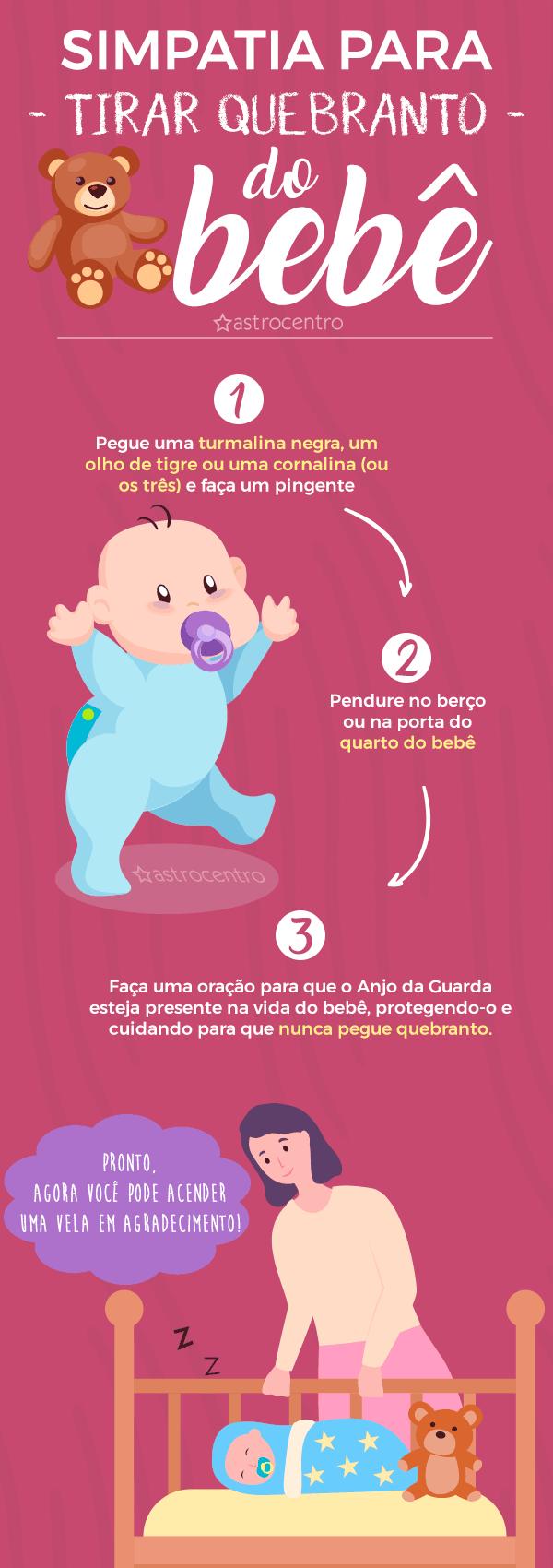Simpatia para tirar quebranto de bebe