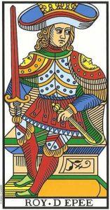 rei de espadas no tarot
