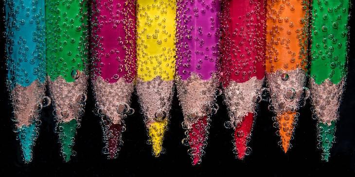 sonhar com cores