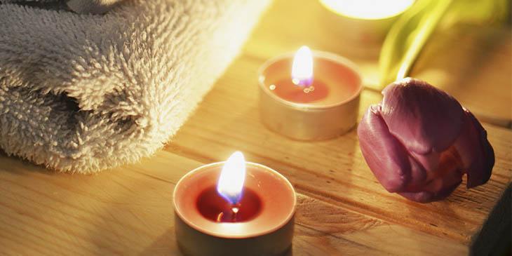 Como usar velas perfumadas