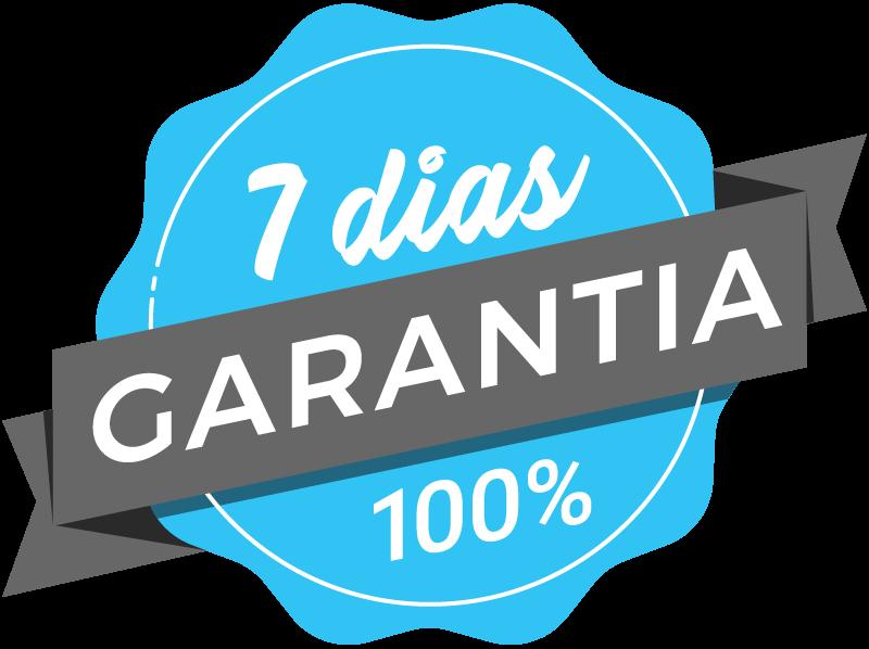 7 dias de garantia
