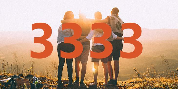 significado de 3333