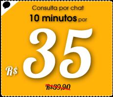 Consulta por chat 10 minutos por R$35