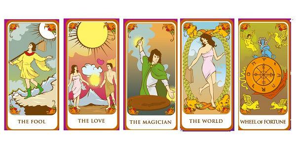 cartas del tarot del amor