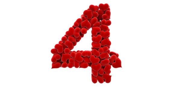 Numerología del amor - 4