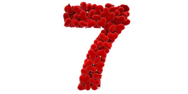 Numerología del amor - 7