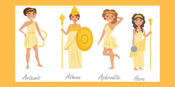 nombres de diosas griegas