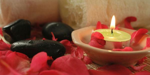 baño de rosas rojas y miel
