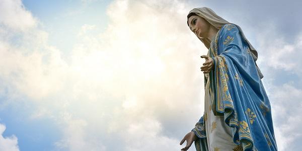 oración de la Virgen María