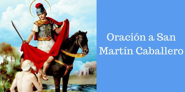 oración a San Martín Caballero para fortuna en el negocio