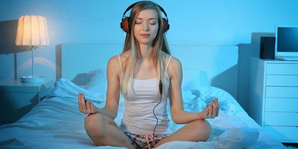 meditar antes de dormir