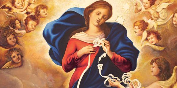 novena a la Virgen de los Desatanudos
