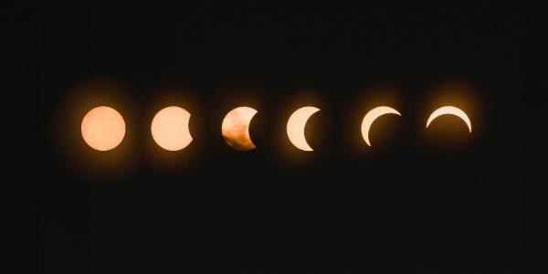 cuáles son las fases lunares y sus nombres