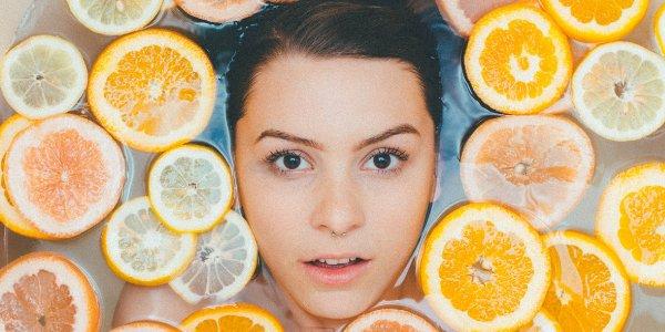 baño de naranja, miel y canela