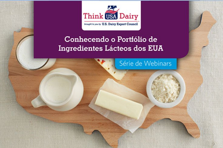 From September to November 2020, USDEC (U.S. Dairy Export Council) will conduct a series of technical ingredient webinars. Click here for more information