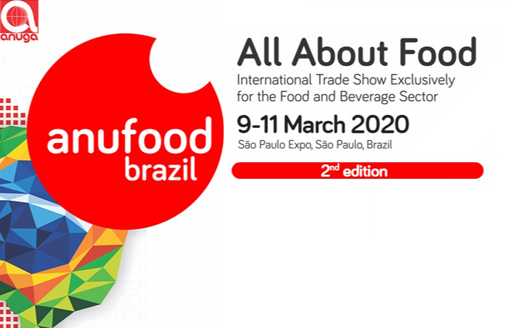 ATO São Paulo will have a booth at ANUFOOD Brazil 2nd Edition