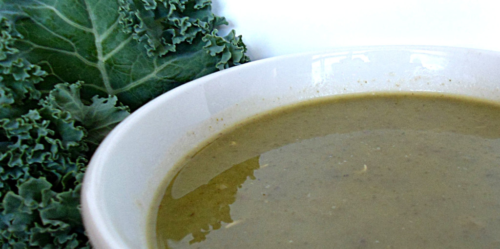 Kale and Apple Soup