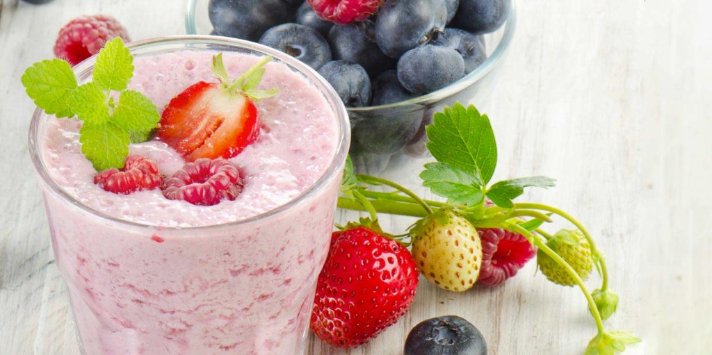 Mint Berry Smoothie