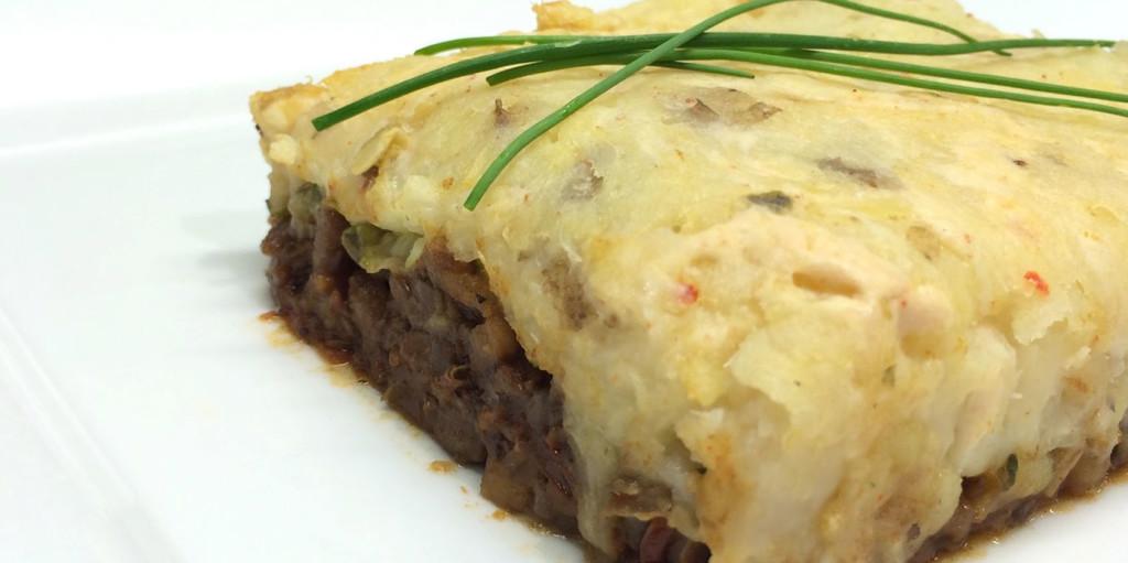 Vegan Parsnip Shepherd's Pie