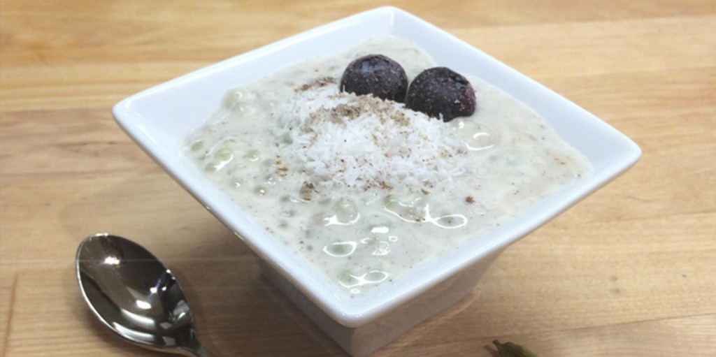 Cardamom and Coconut Tapioca Pudding
