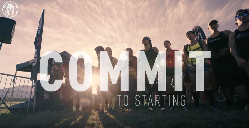 Spartan Race: Commit to Starting