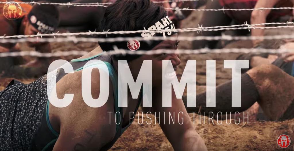 Spartan Race: Pushing Through