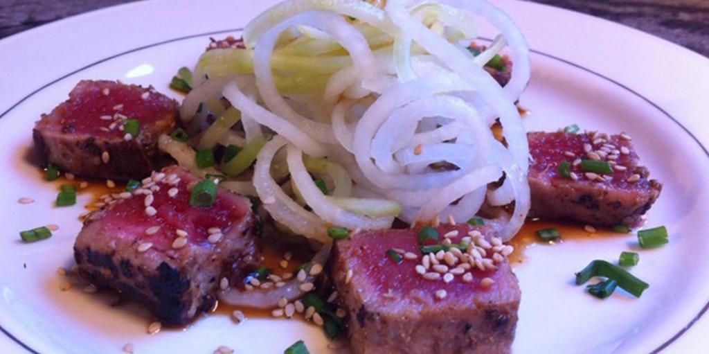 Pan-Seared Sesame Tuna