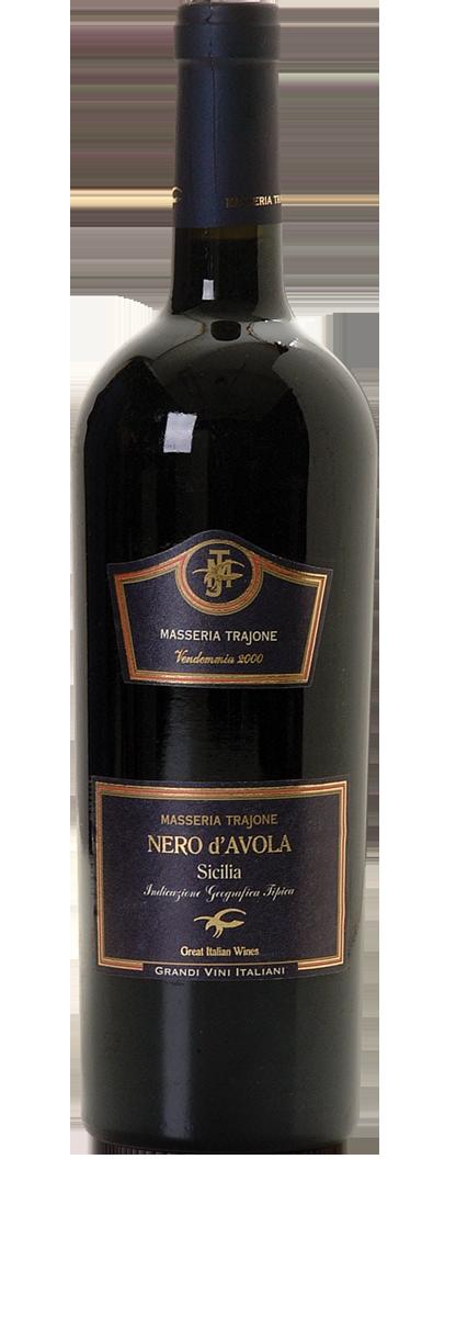 Masseria Trajone Sicilia Nero d'Ávola 2010