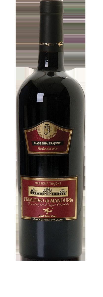 Masseria Trajone Puglia Primitivo di Manduria 2014