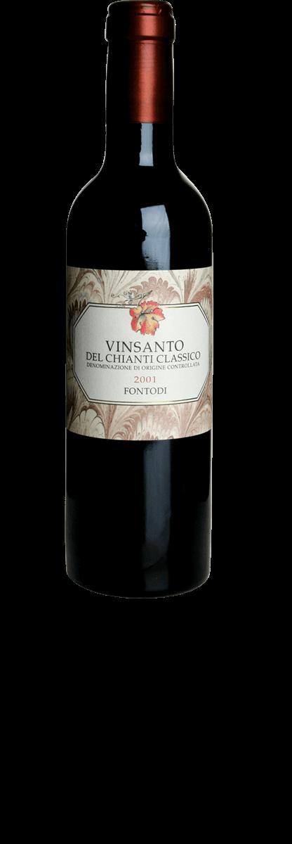 Fontodi Vin Santo del Chianti Classico 2001 - meia gfa