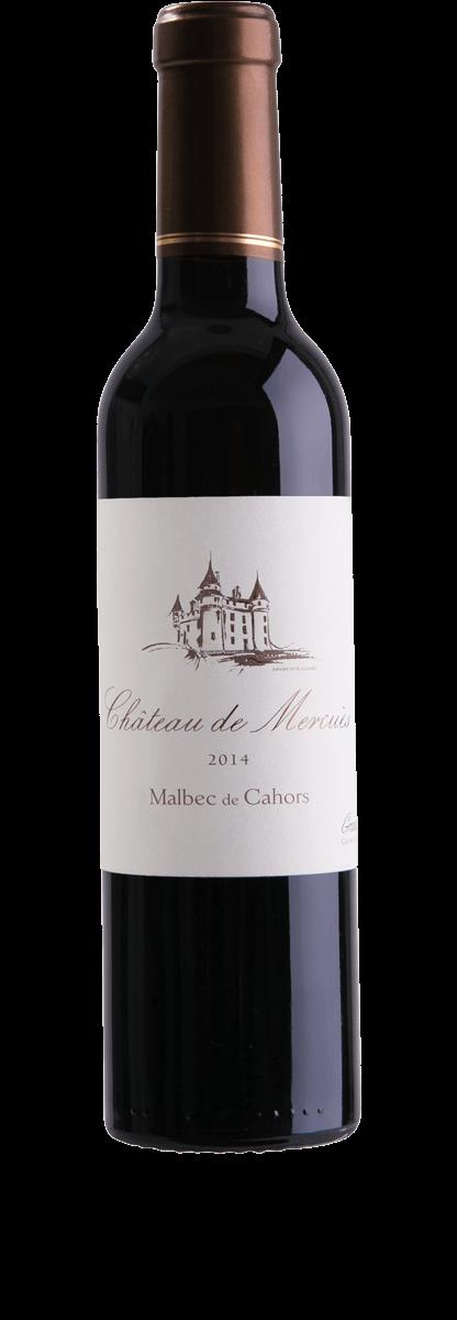 Château de Mercués Cahors Malbec 2014  - meia gfa