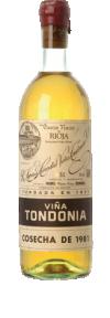 Viña Tondonia Gran Reserva blanco 1991  - Viña Tondonia