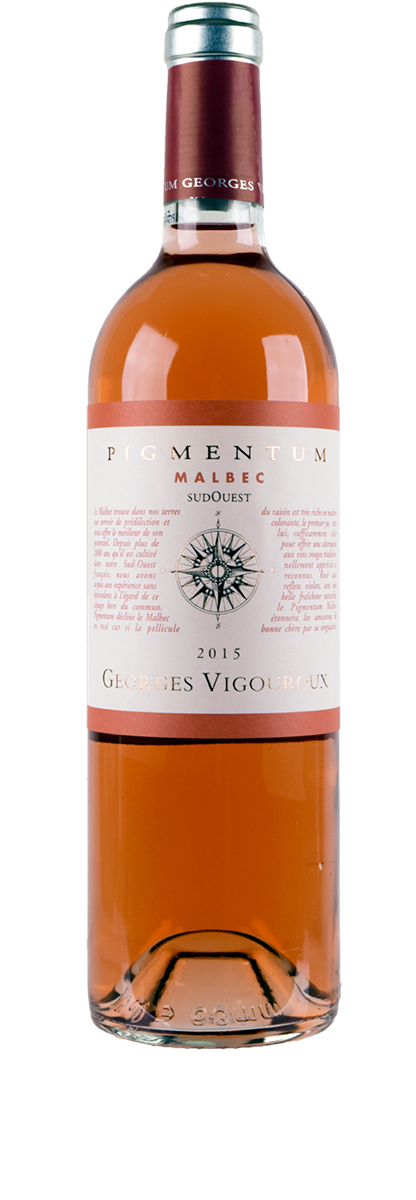 Pigmentum Cahors Malbec Rosé 2015