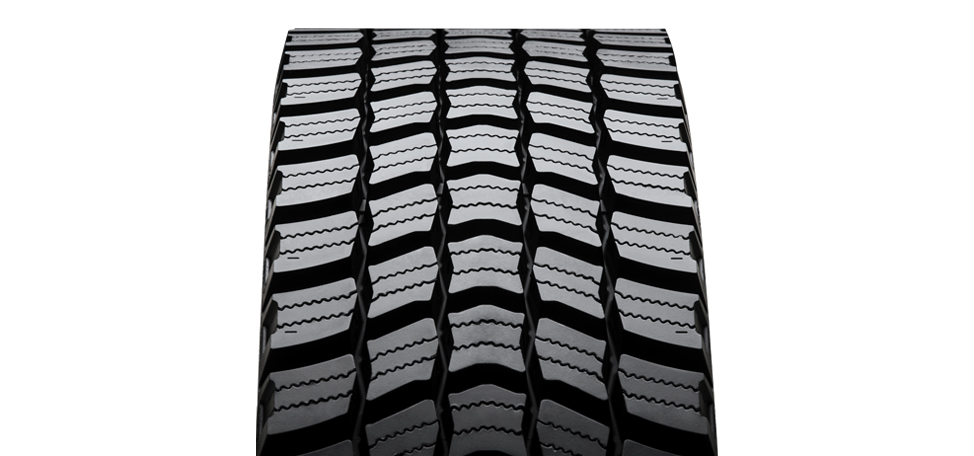 New Vipal VT250: The tread guarantees high performance in snow and mud conditions