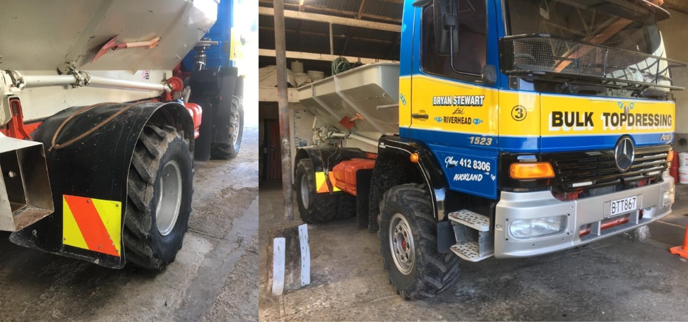 Vipal´s retreading partner in New Zealand approves agricultural tyres in product tests