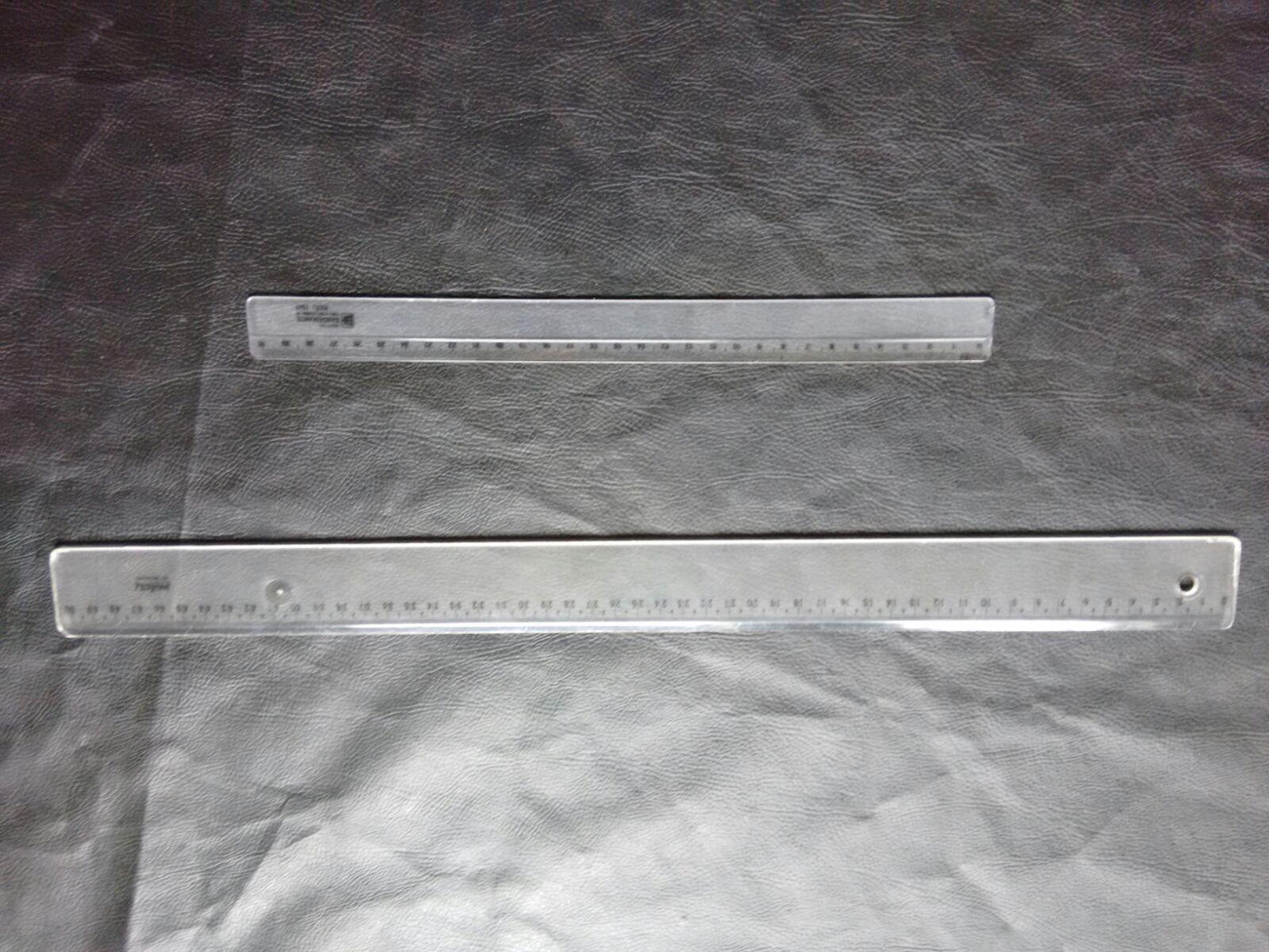 régua comum para moldes de roupa