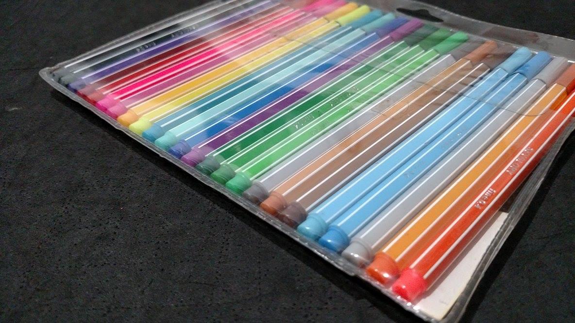 canetas hidrográficas para modelagem