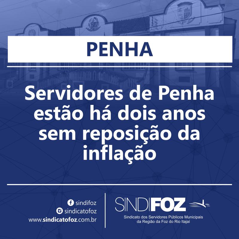 Sem reposição há dois anos, servidores de Penha participam de Assembleia da Campanha Salarial 2021