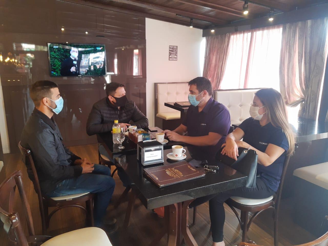 Sindifoz se reúne com vereadores de Navegantes para que Revisão Geral Anual dos servidores não seja revogada