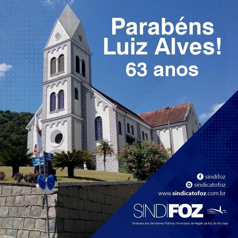 Parabéns, Luiz Alves!