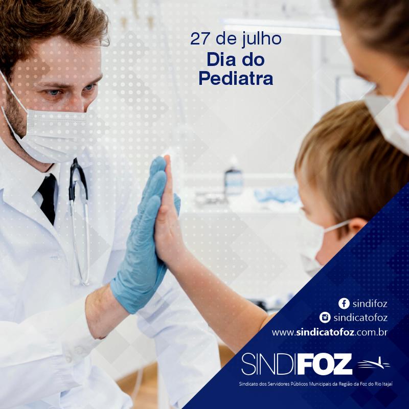 Parabéns pediatras!