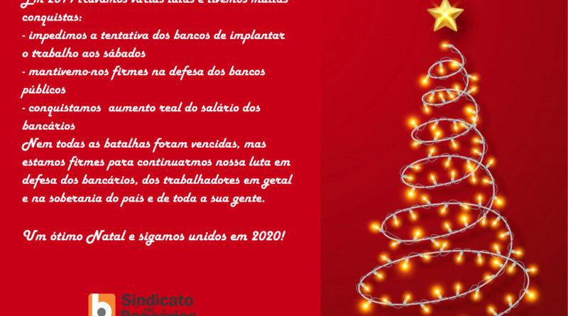 Feliz Natal E Sigamos Unidos E Fortes Em 2020 Sindicato