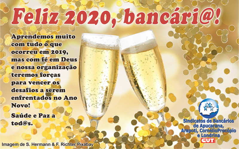 Feliz Ano Novo, bancári@!