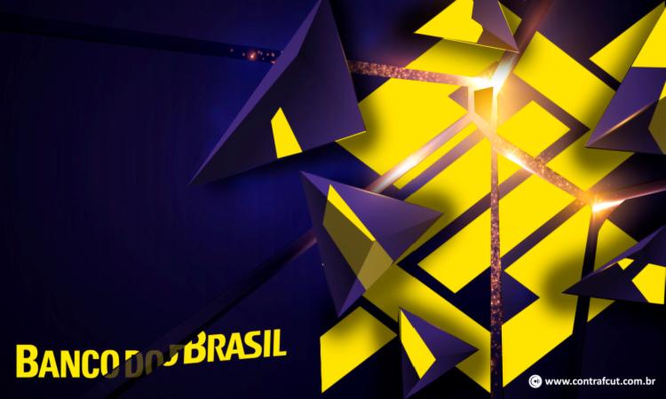 Vista preto neste dia (15) contra a reestruturação no Banco do Brasil
